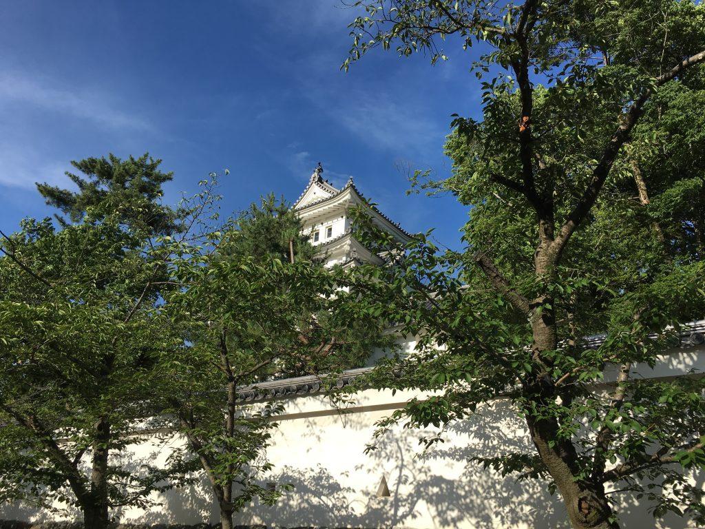 大垣城を訪れる。