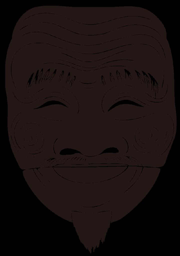 耳からの白い毛