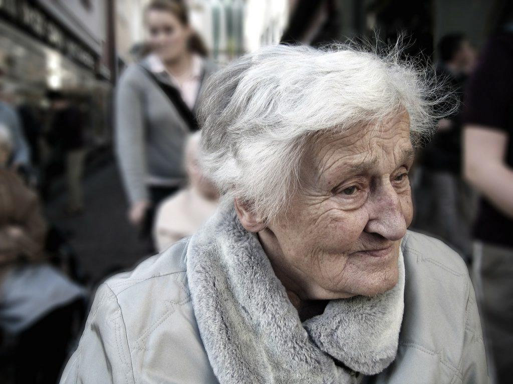 同僚の女性の老い