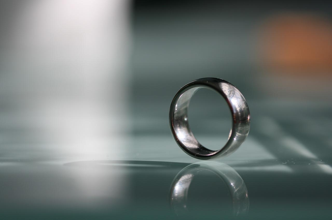 結婚指輪が痛くなると体重増加の印だ。